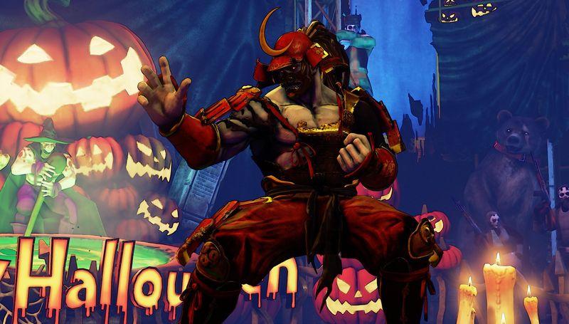 Halloweenské kostýmy do Street Fighter V 131550
