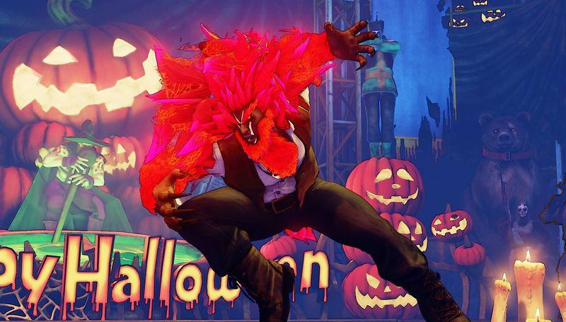 Halloweenské kostýmy do Street Fighter V 131555