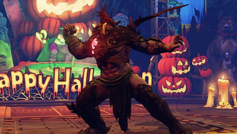 Halloweenské kostýmy do Street Fighter V 131558