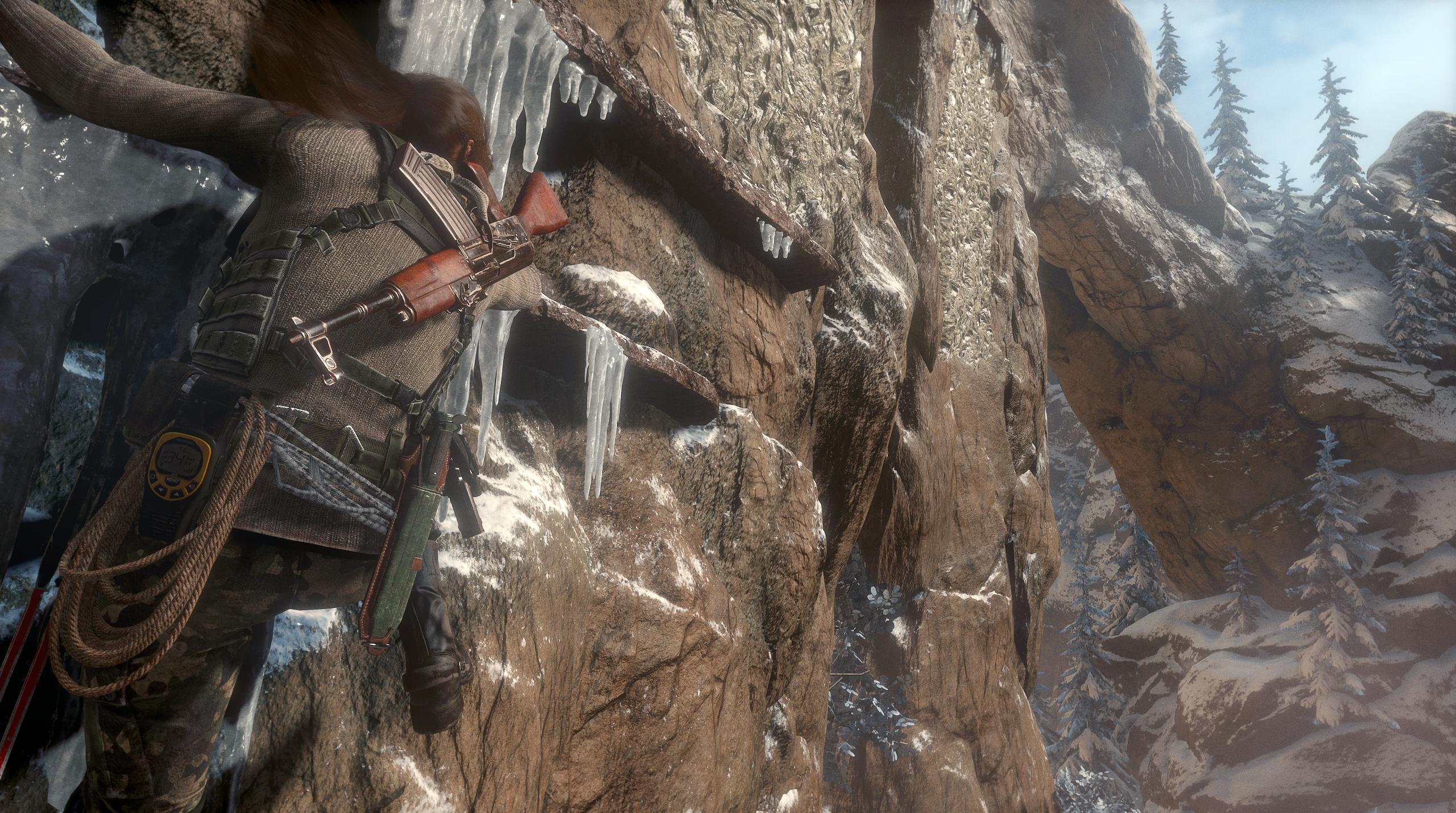Obrázky z Rise of the Tomb Raider před vydáním PS4 verze 131614