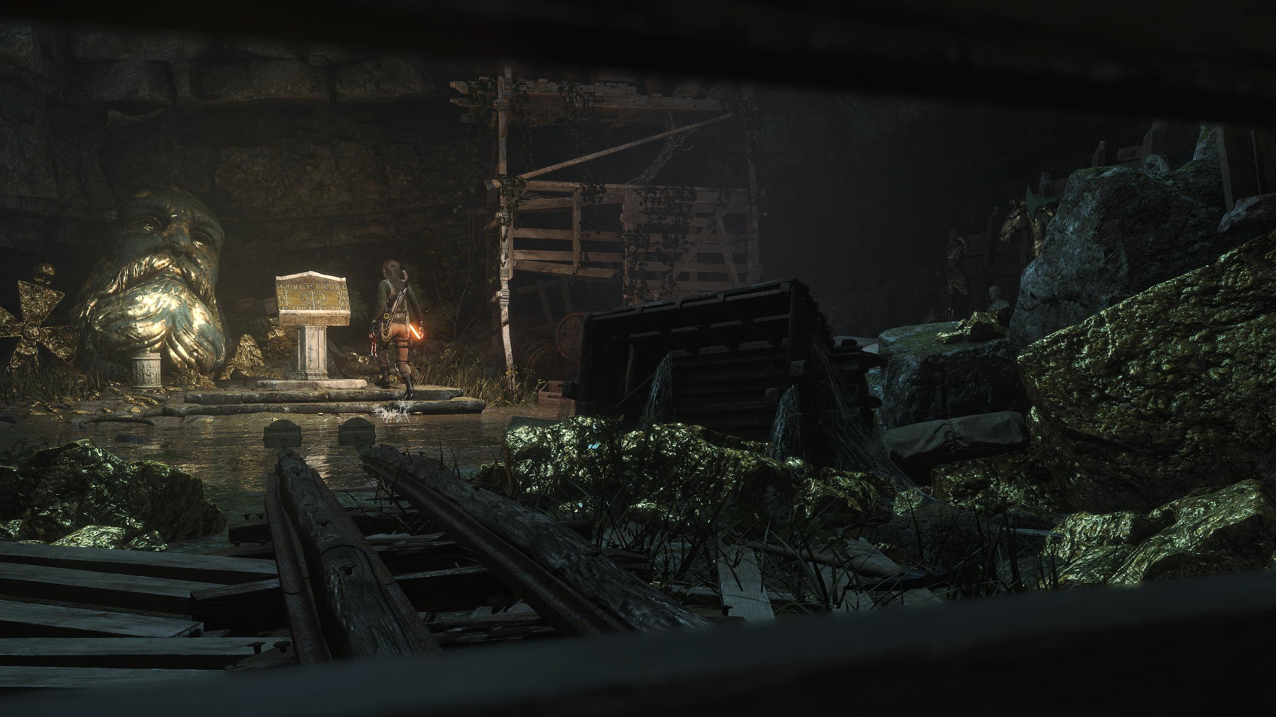 Obrázky z Rise of the Tomb Raider před vydáním PS4 verze 131615