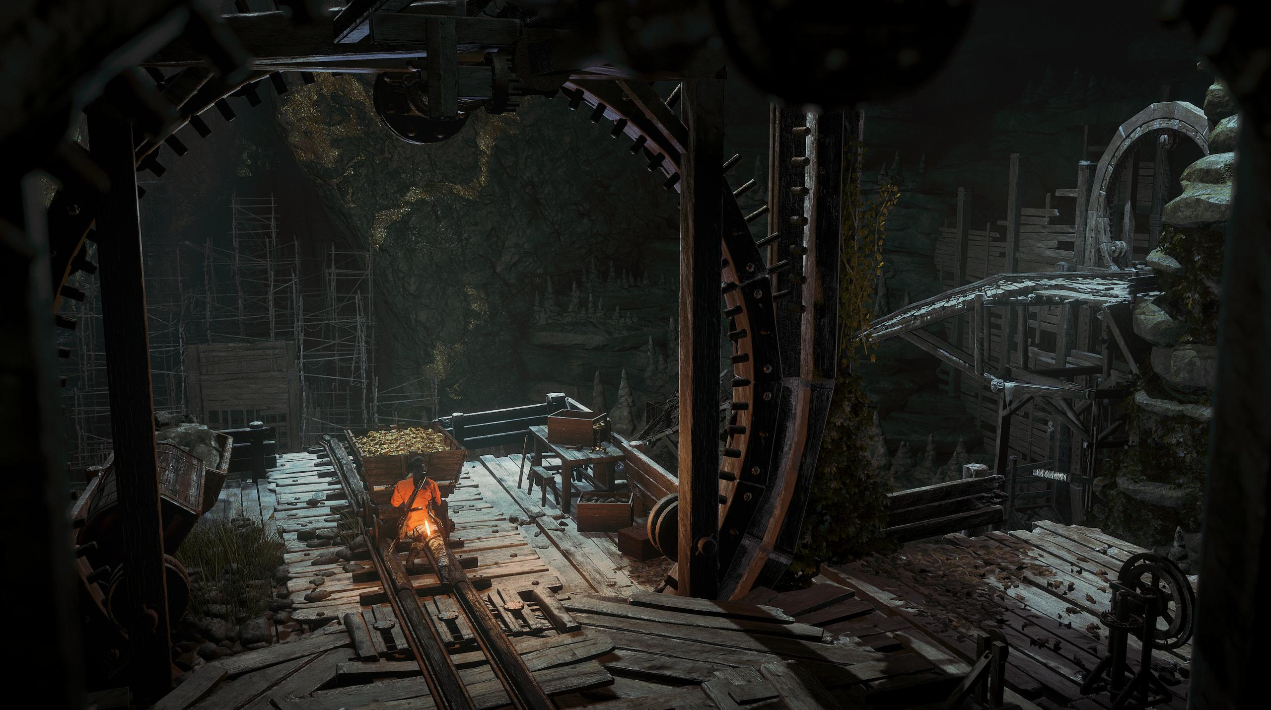 Obrázky z Rise of the Tomb Raider před vydáním PS4 verze 131616
