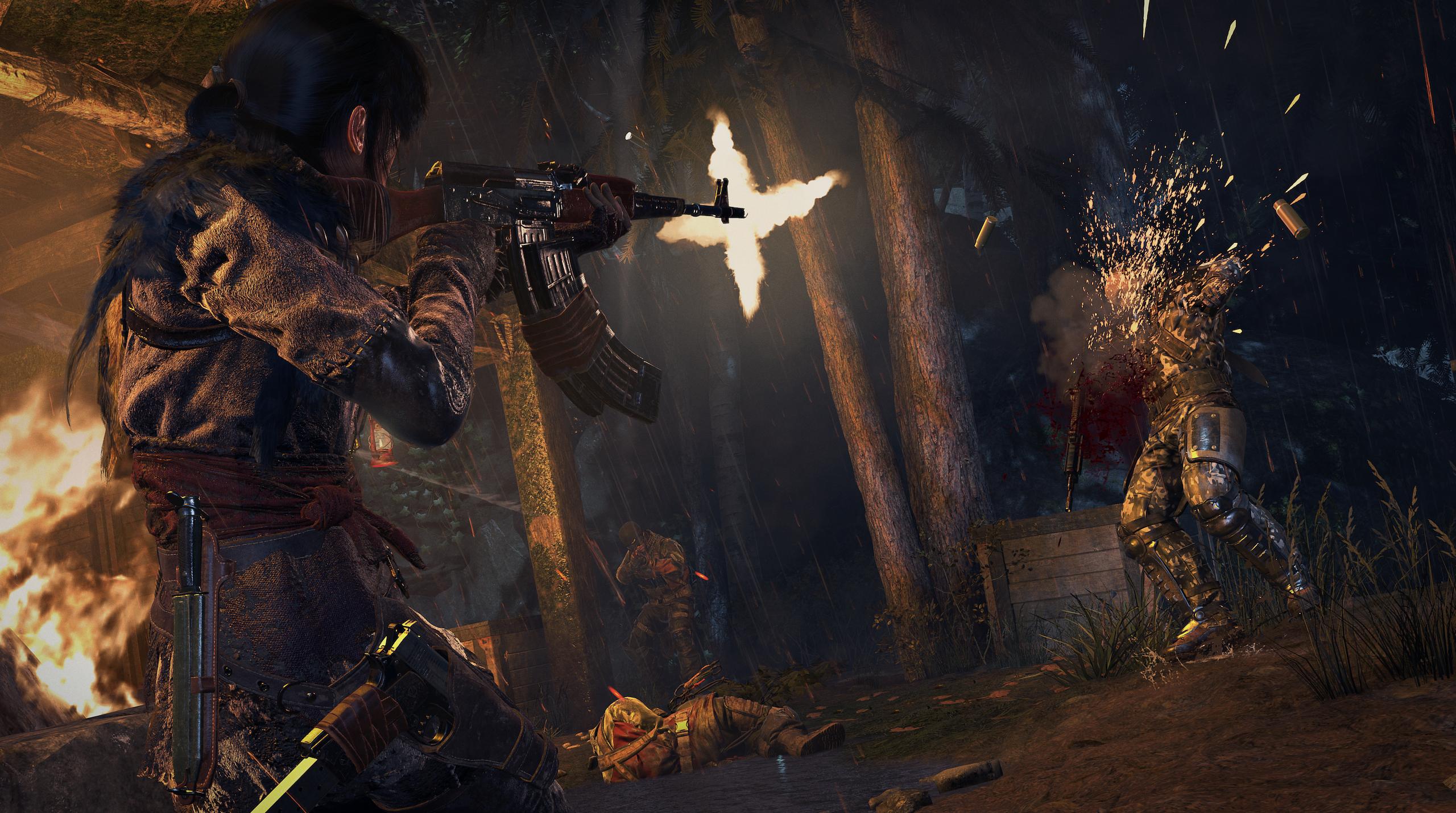 Obrázky z Rise of the Tomb Raider před vydáním PS4 verze 131617