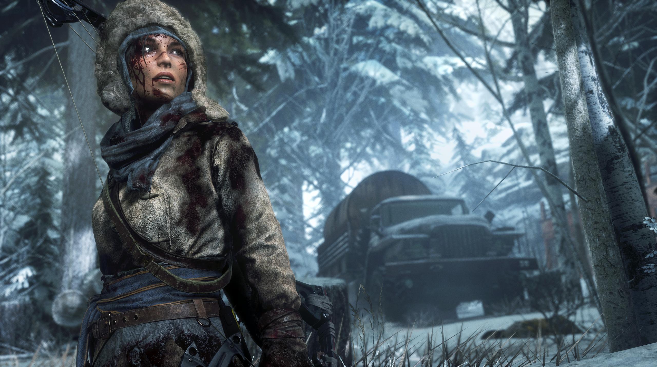Obrázky z Rise of the Tomb Raider před vydáním PS4 verze 131619