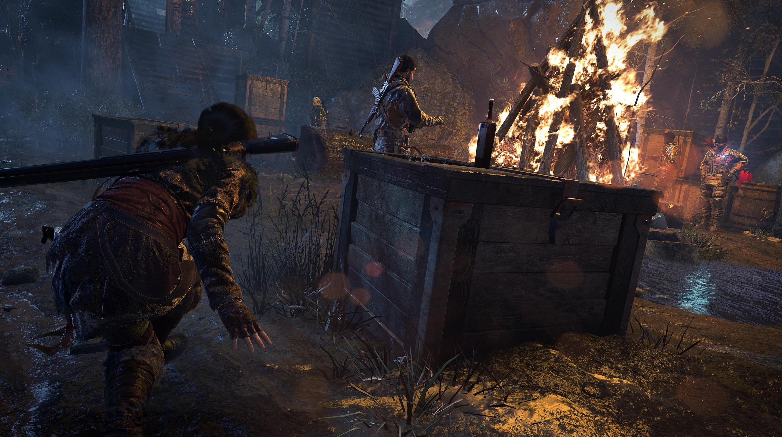 Obrázky z Rise of the Tomb Raider před vydáním PS4 verze 131620