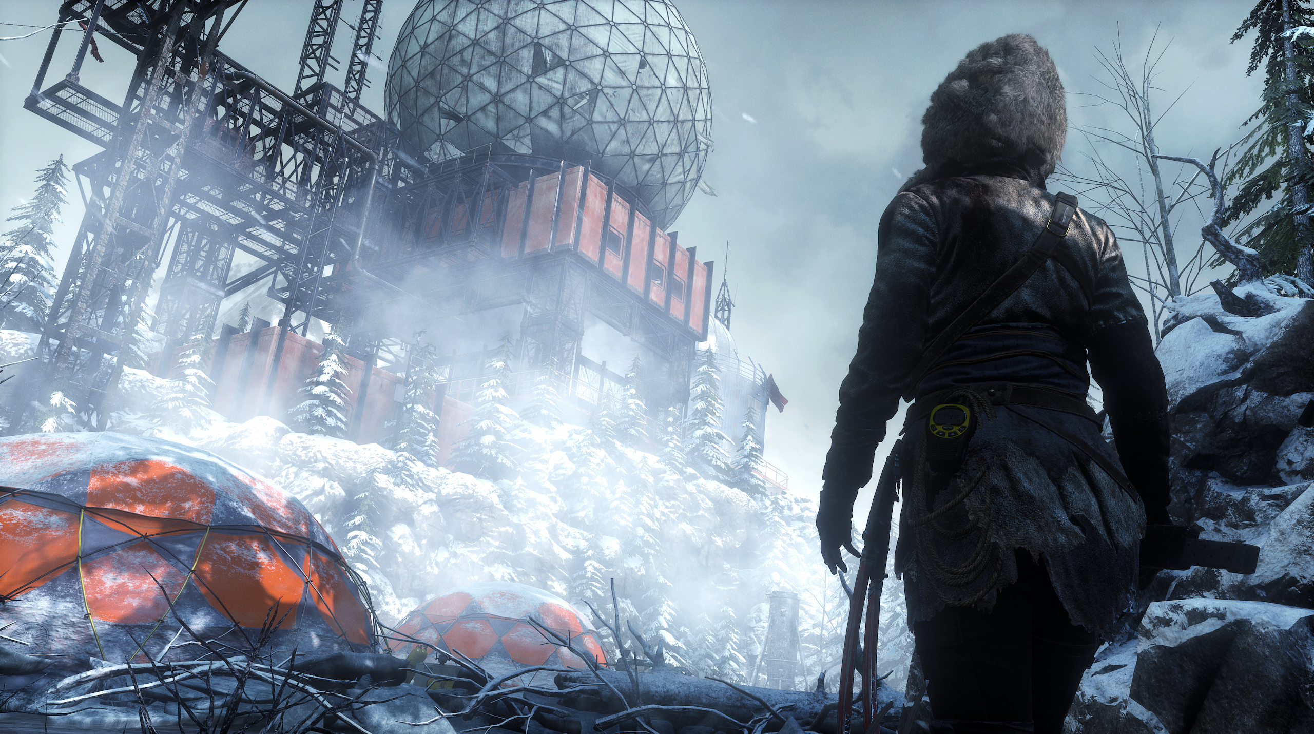 Obrázky z Rise of the Tomb Raider před vydáním PS4 verze 131622