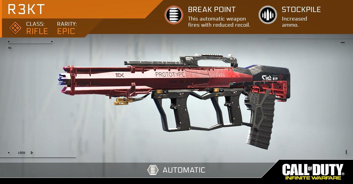Přiblížen crafting zbraní v Call of Duty: Infinite Warfare 131628