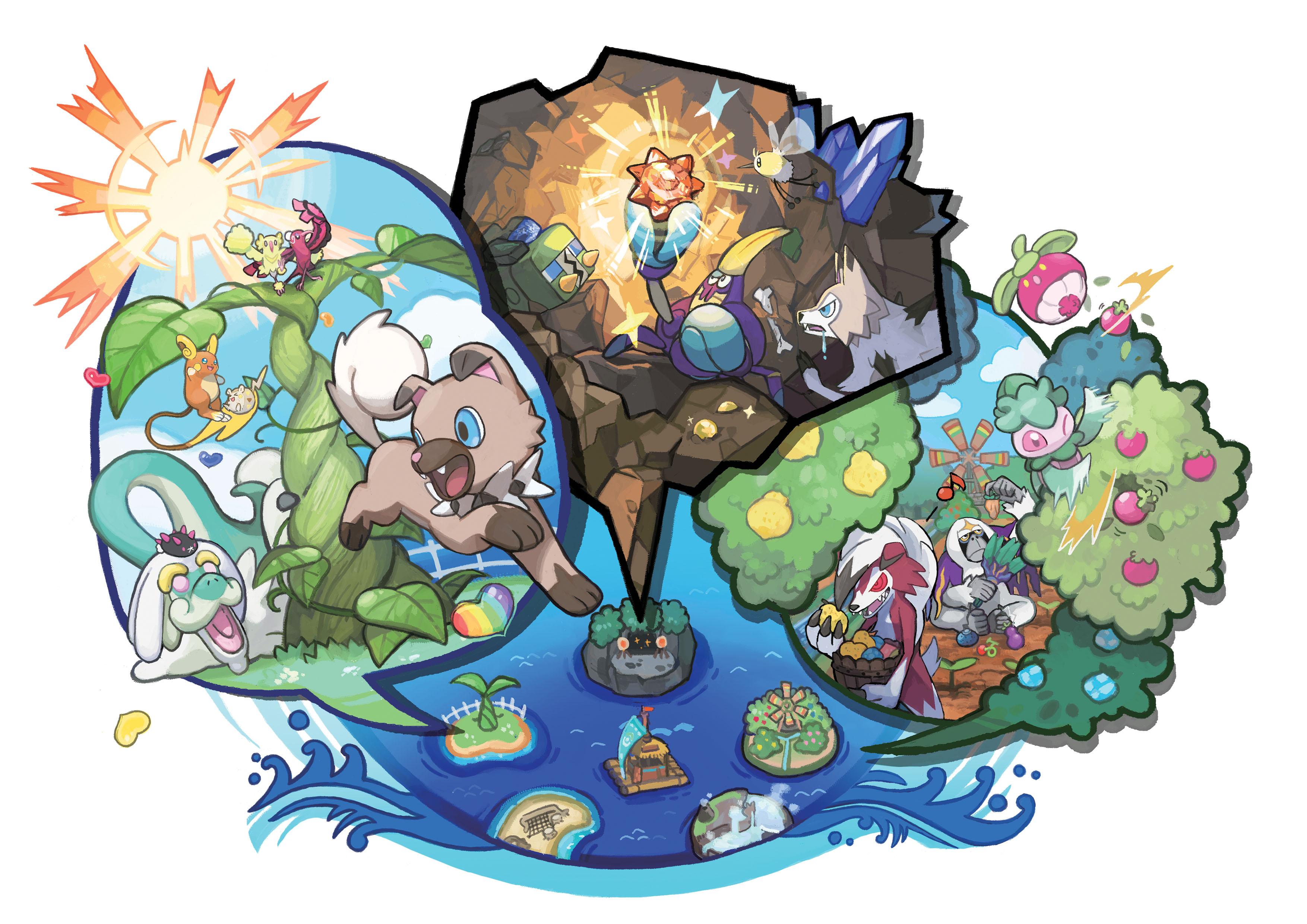 Demo Pokémon Sun a Moon vychází 18. října 131724