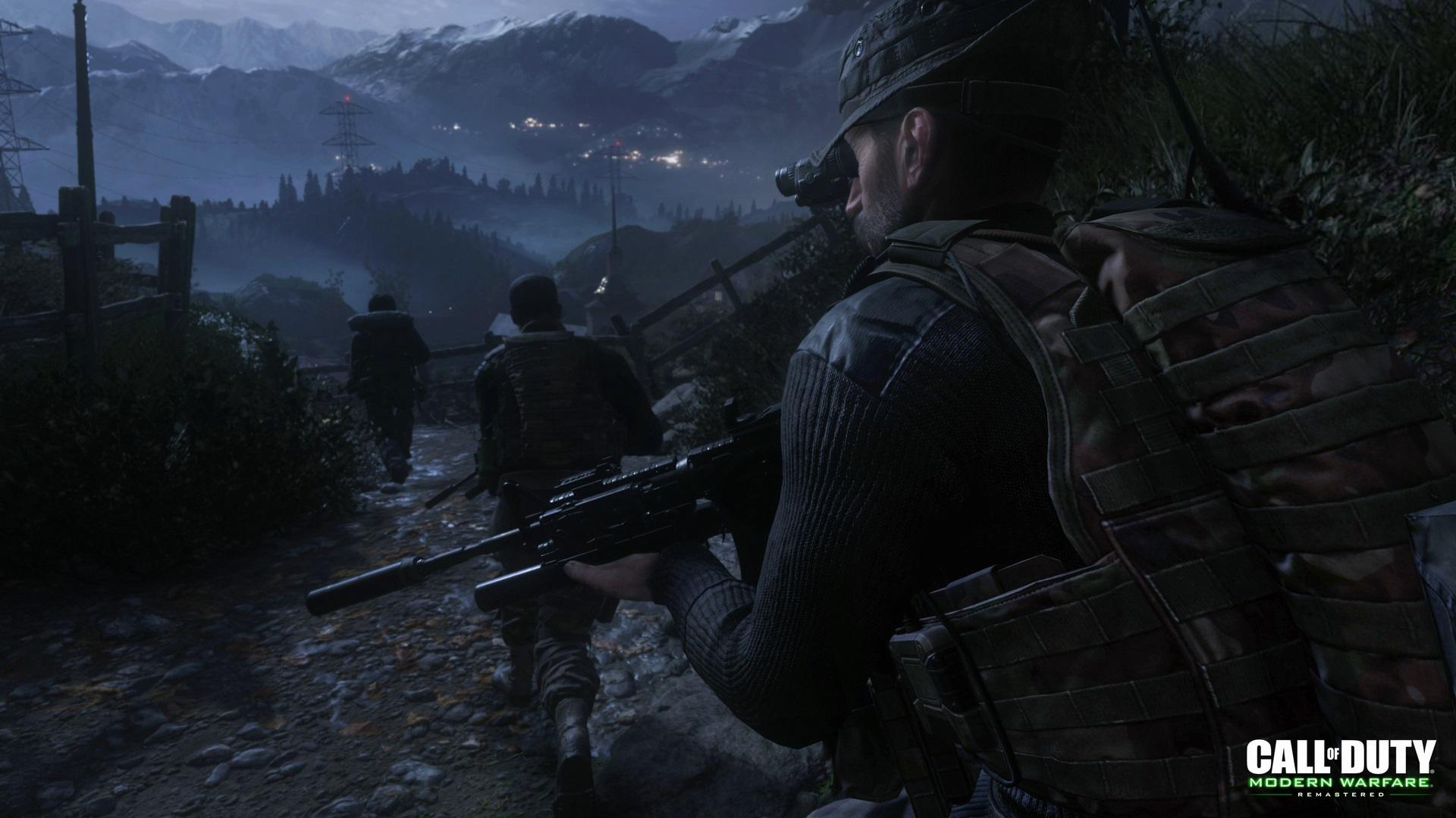 Nové screenshoty z Call of Duty: Modern Warfare Remastered ukazují známé mise 131756