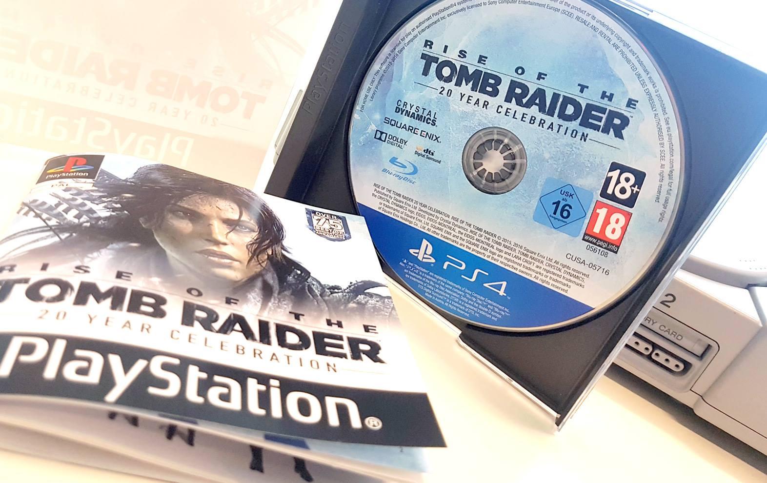 Speciální výroční edice Tomb Raider ve stylu PS One 132049