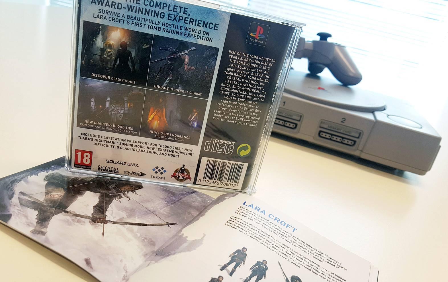 Speciální výroční edice Tomb Raider ve stylu PS One 132050