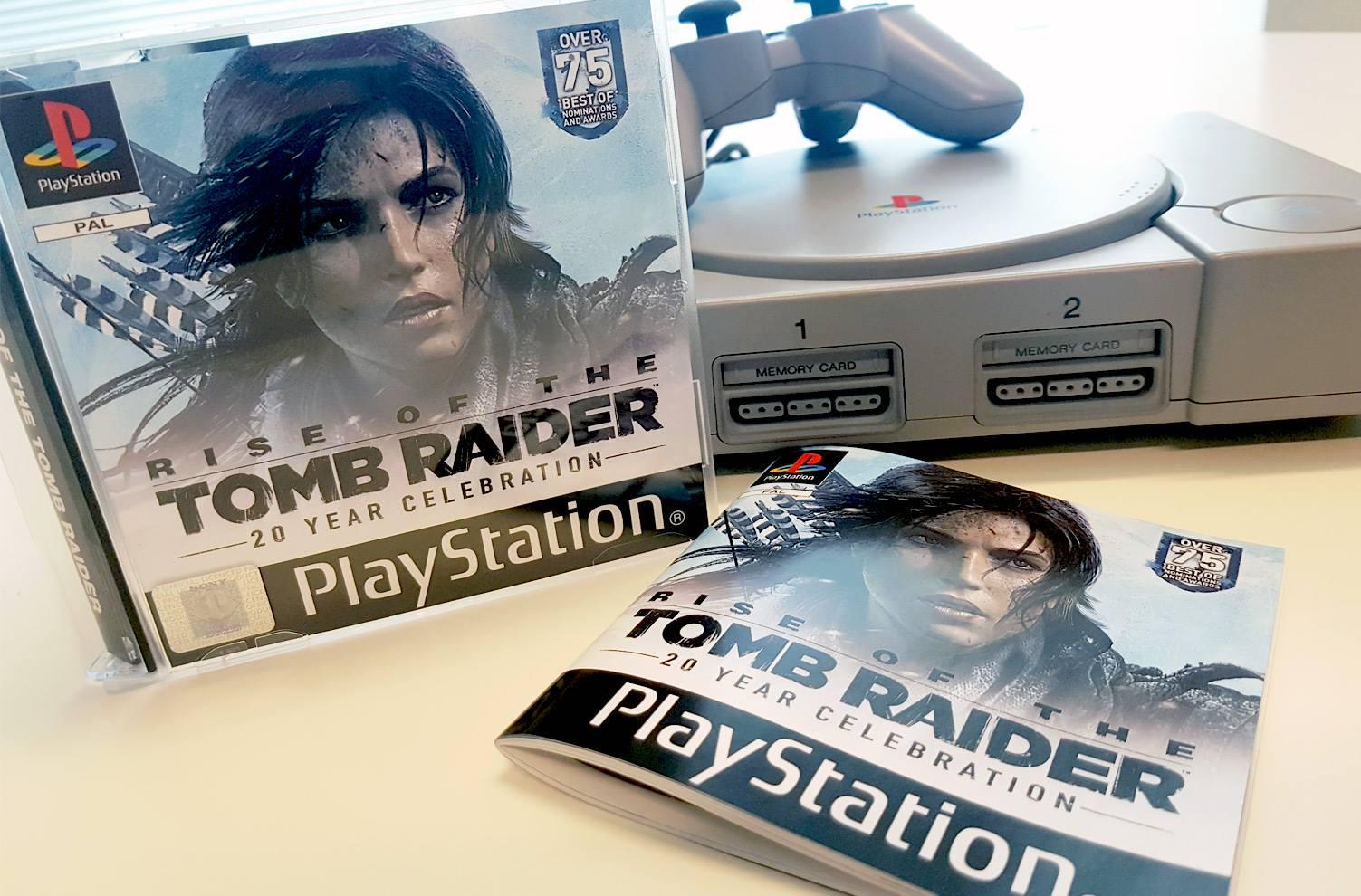 Speciální výroční edice Tomb Raider ve stylu PS One 132051