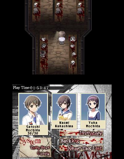 Masakr z Corpse Party dorazí už zítra na 3DS 132164