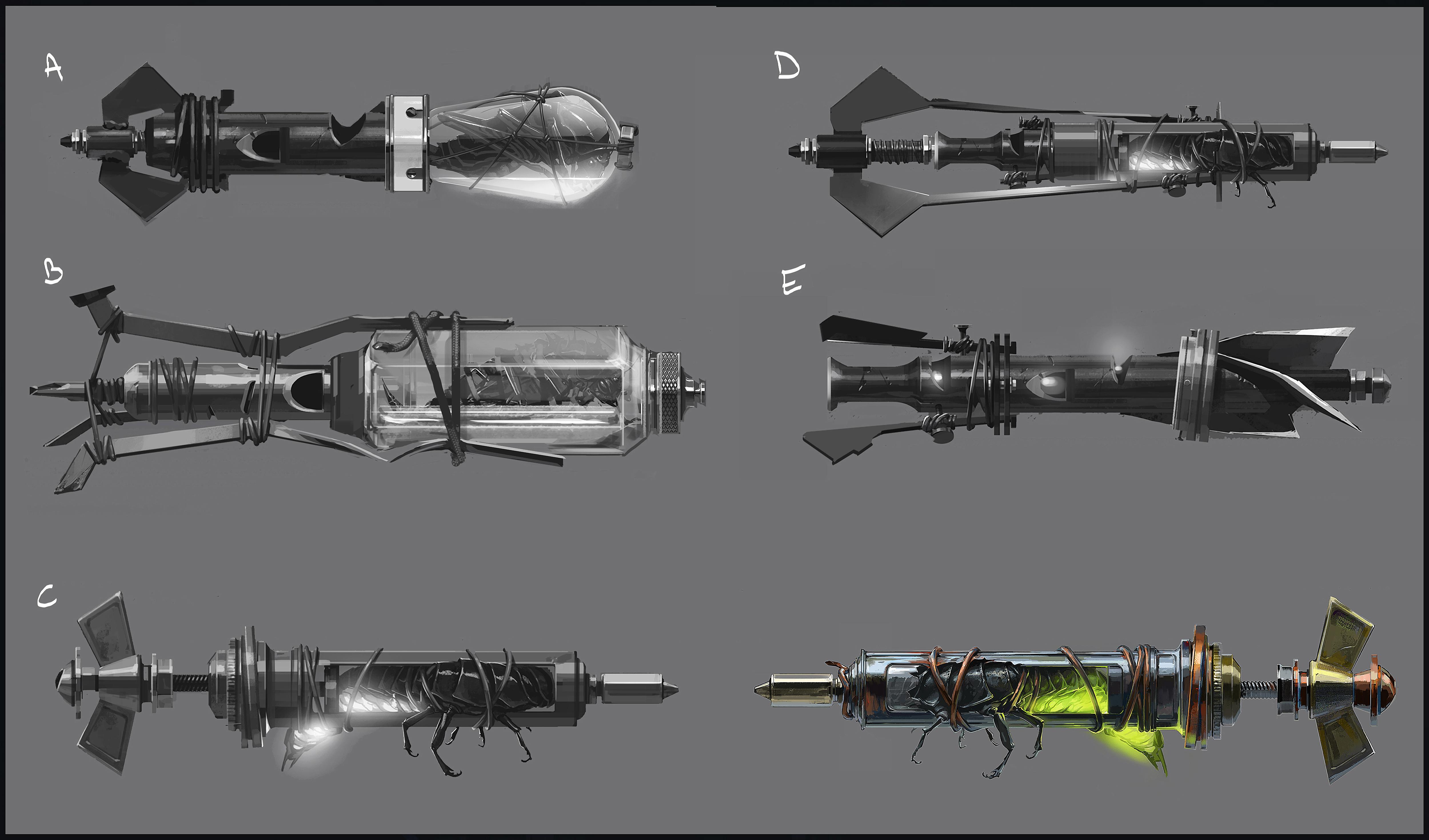 Prohlédněte si zbraně z Dishonored 2 132175