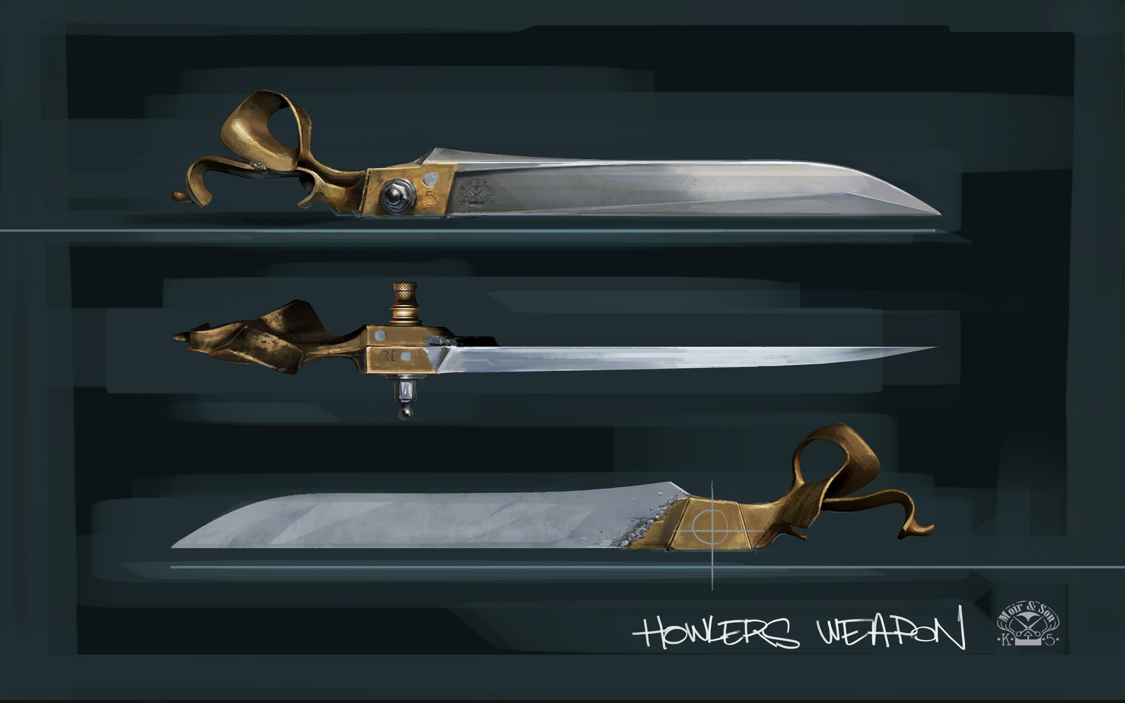 Prohlédněte si zbraně z Dishonored 2 132176