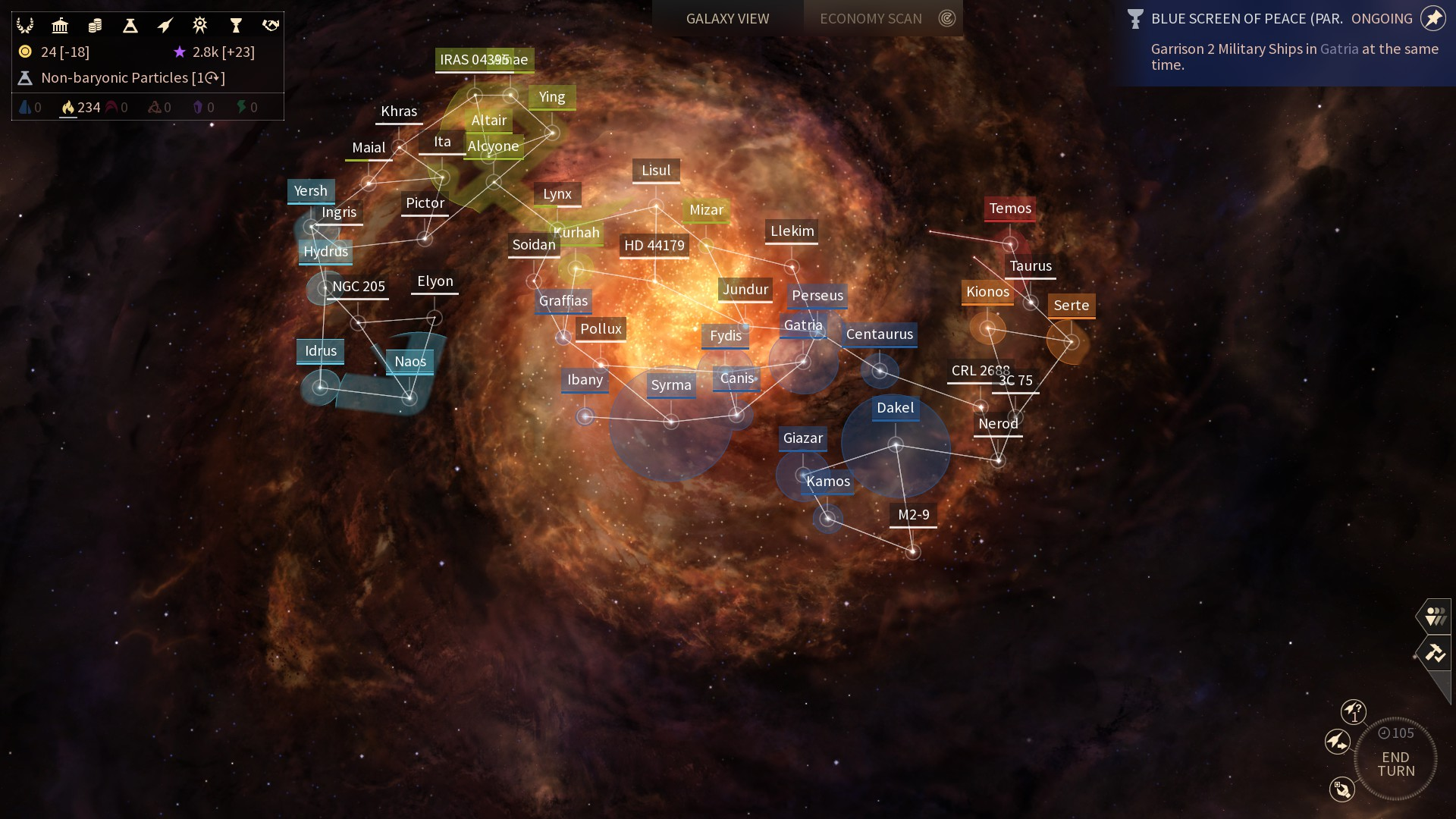 Endless Space 2 – dojmy z Early Access verze 132243