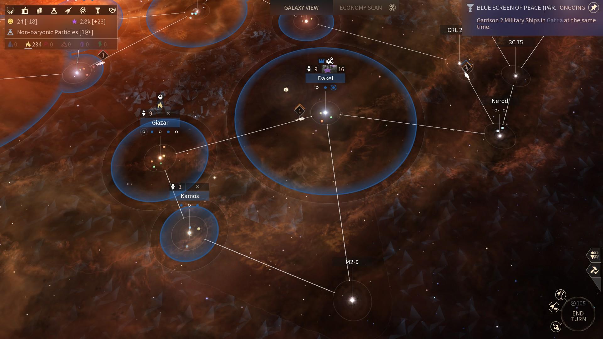 Endless Space 2 – dojmy z Early Access verze 132244