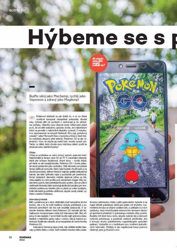 Hra Pokémon GO se dočkala svého časopisu 132258