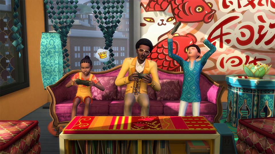 Festivaly humoru a žertu v rozšíření The Sims 4 132323