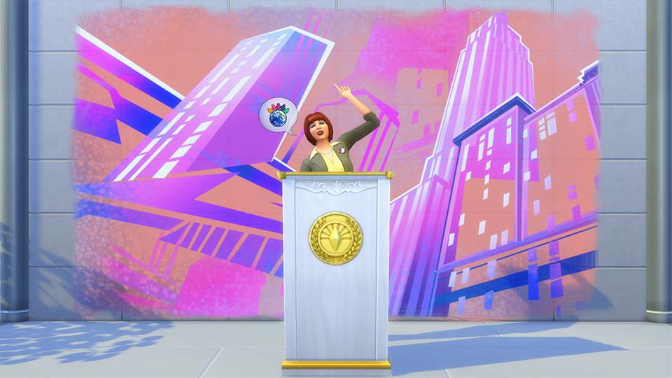 Festivaly humoru a žertu v rozšíření The Sims 4 132324