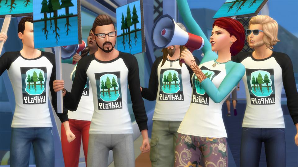 Festivaly humoru a žertu v rozšíření The Sims 4 132325
