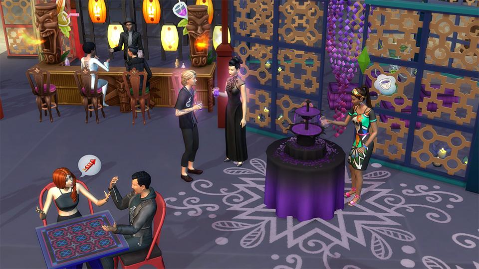 Festivaly humoru a žertu v rozšíření The Sims 4 132328