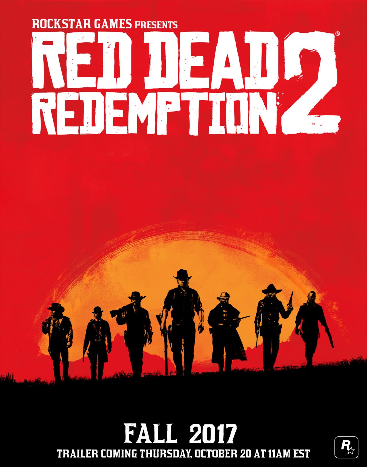 Rockstar oficiálně oznamuje Red Dead Redemption 2 132362