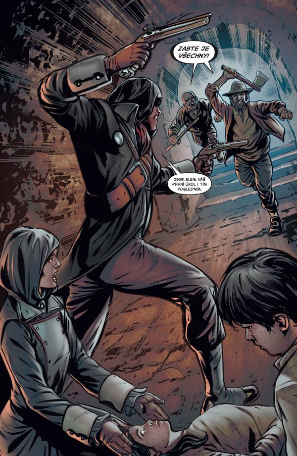 Assassin's Creed: Zkouška ohněm - asasíni mezi čarodějnicemi 132534