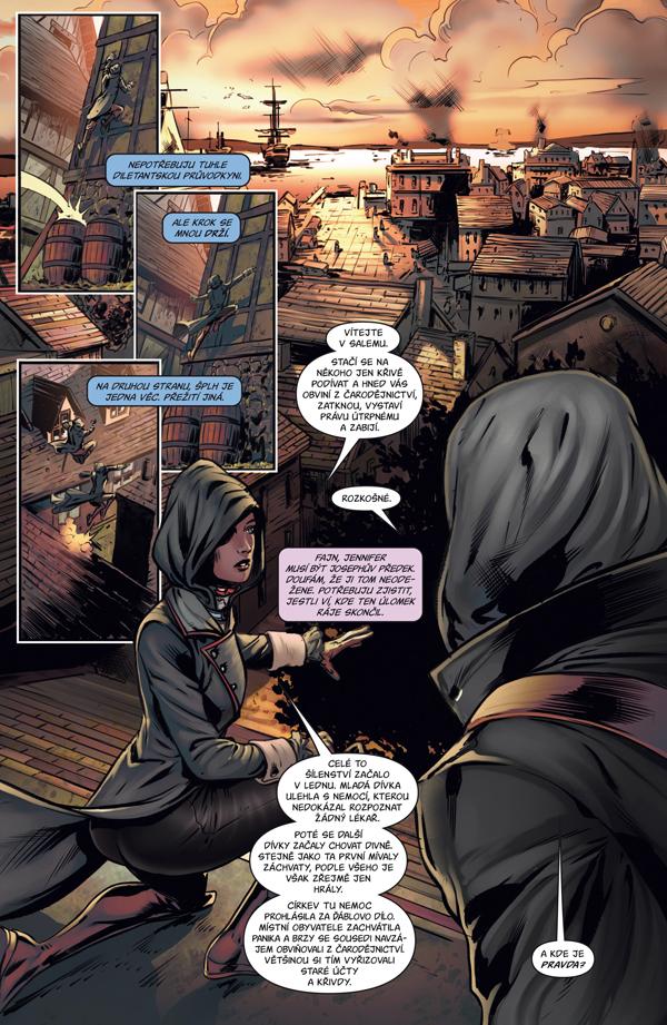 Assassin's Creed: Zkouška ohněm - asasíni mezi čarodějnicemi 132535