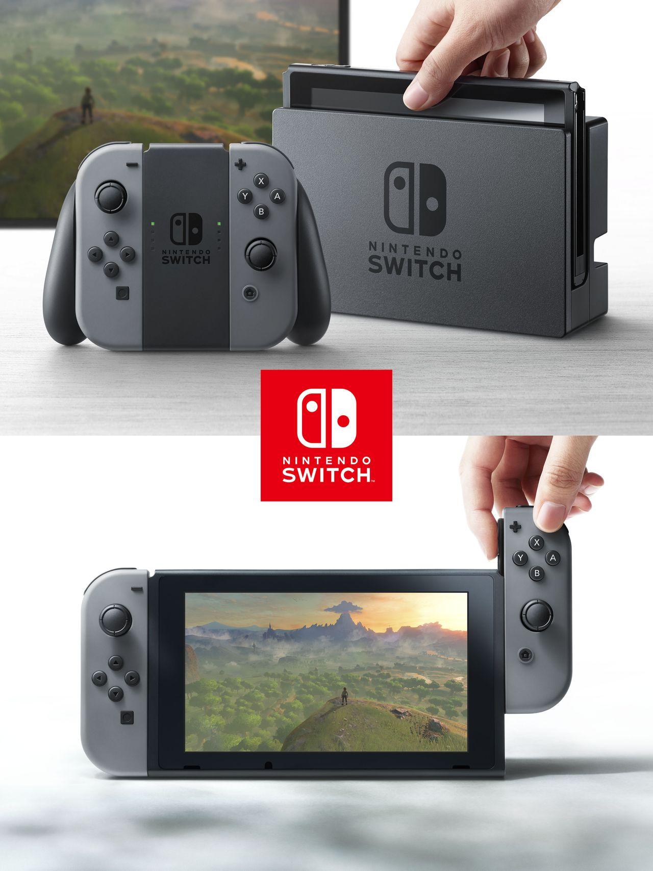 Nintendo ukázalo světu svou novou konzoli Switch 132544