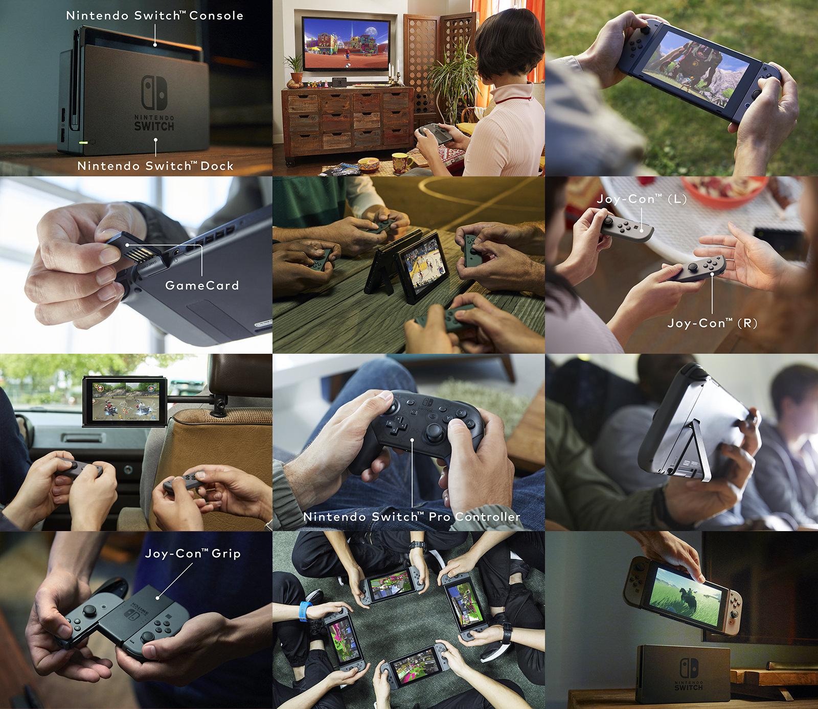 Nintendo ukázalo světu svou novou konzoli Switch 132545