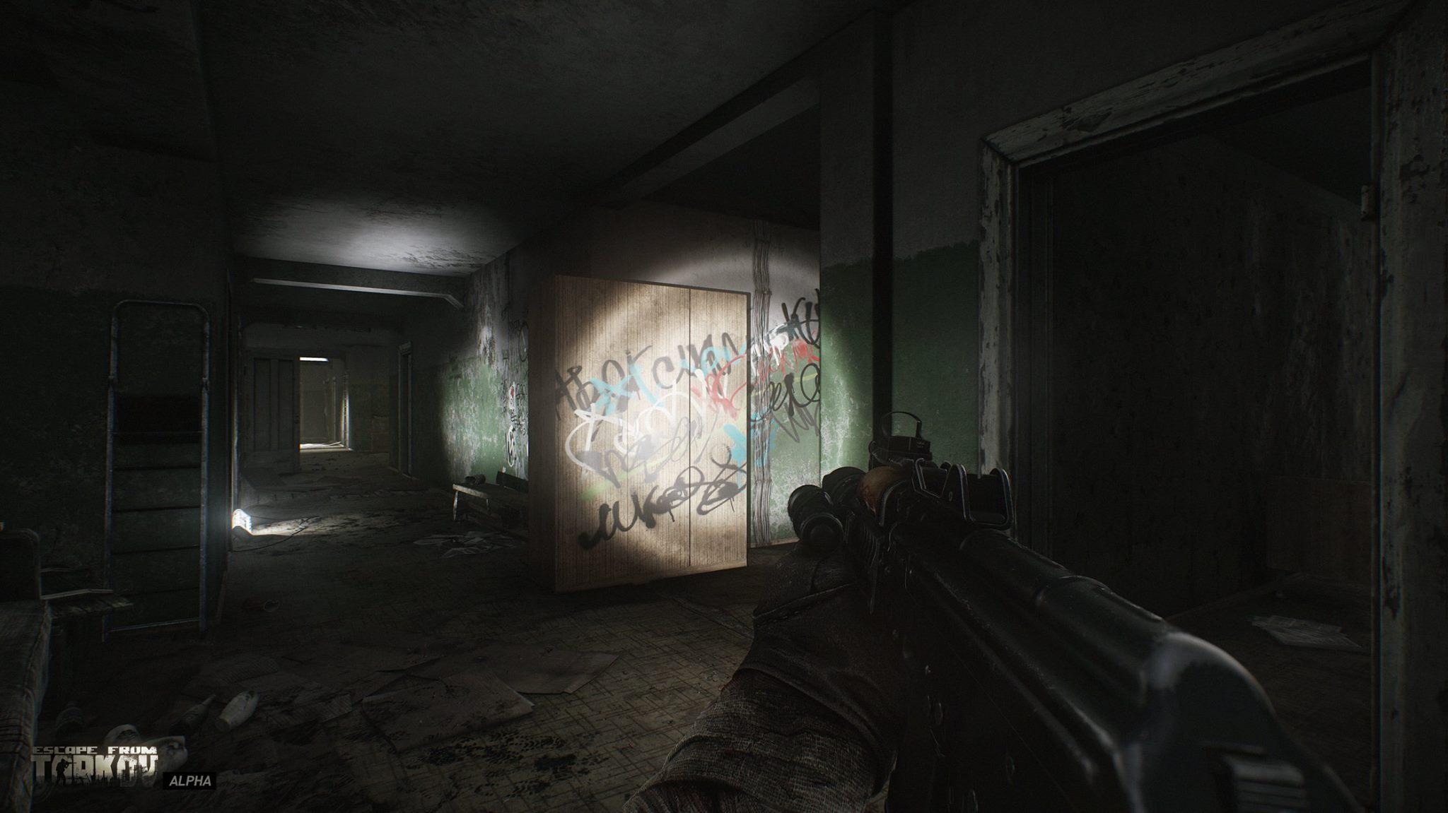 Escape from Tarkov se chlubí lepšími vizuálními efekty 132616