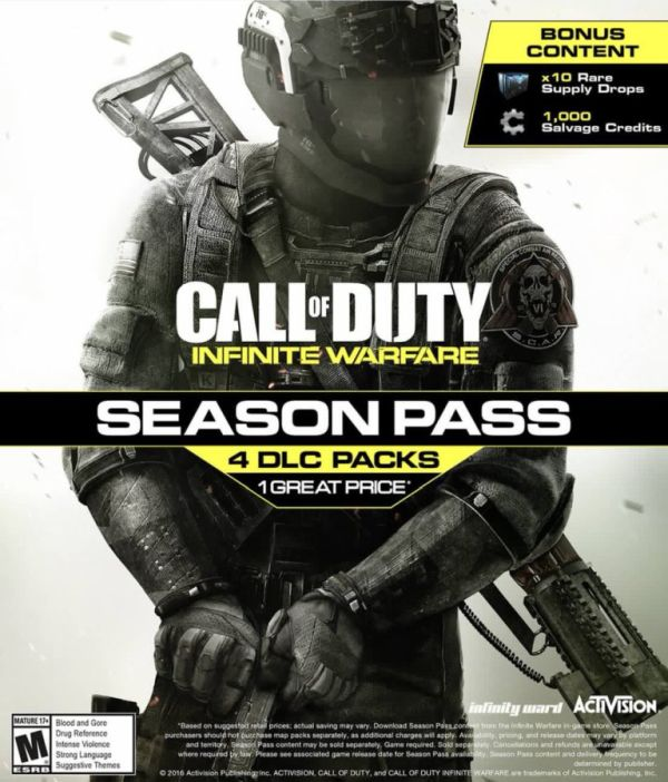 I Call of Duty: Infinite Warfare bude mít čtyři DLC 132698