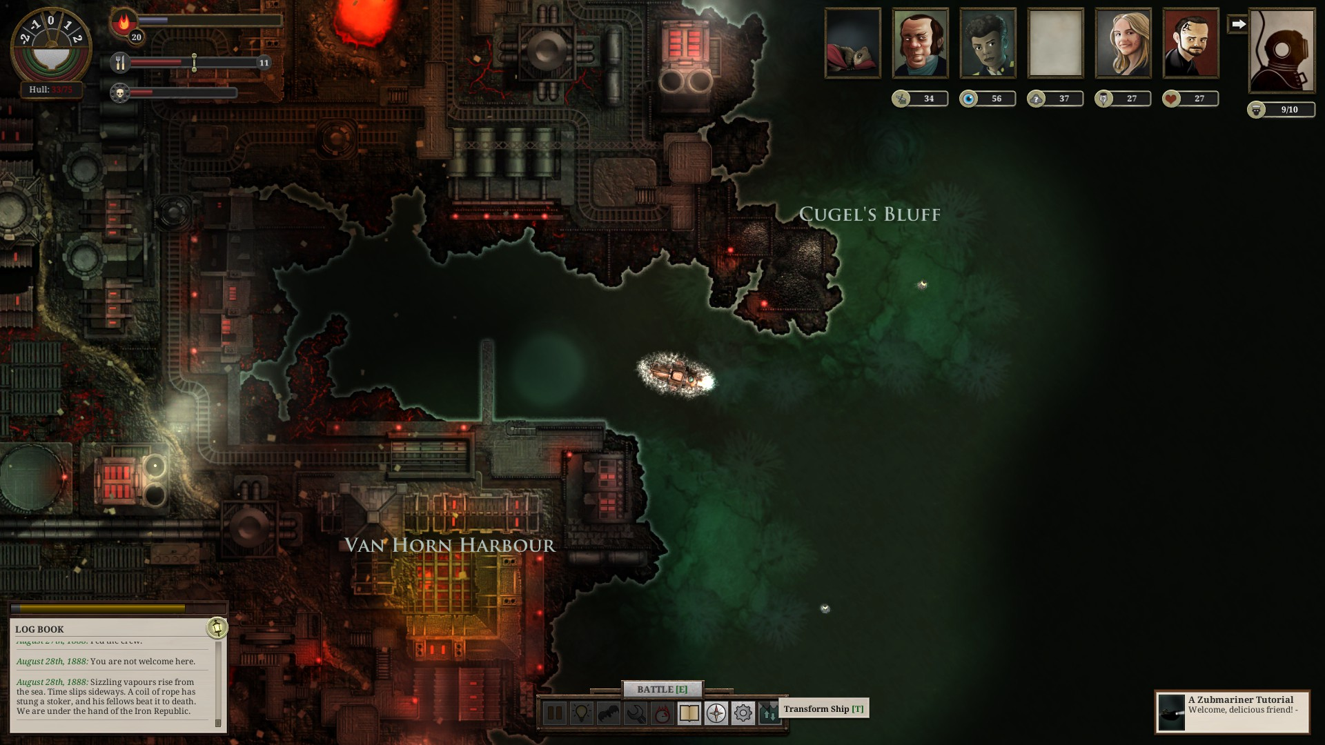 Sunless Sea – vy a moře 132803