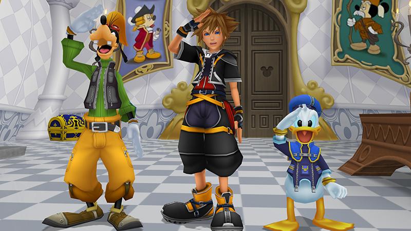 Kingdom Hearts HD 1.5 + 2.5 Remix dorazí na PS4 132878