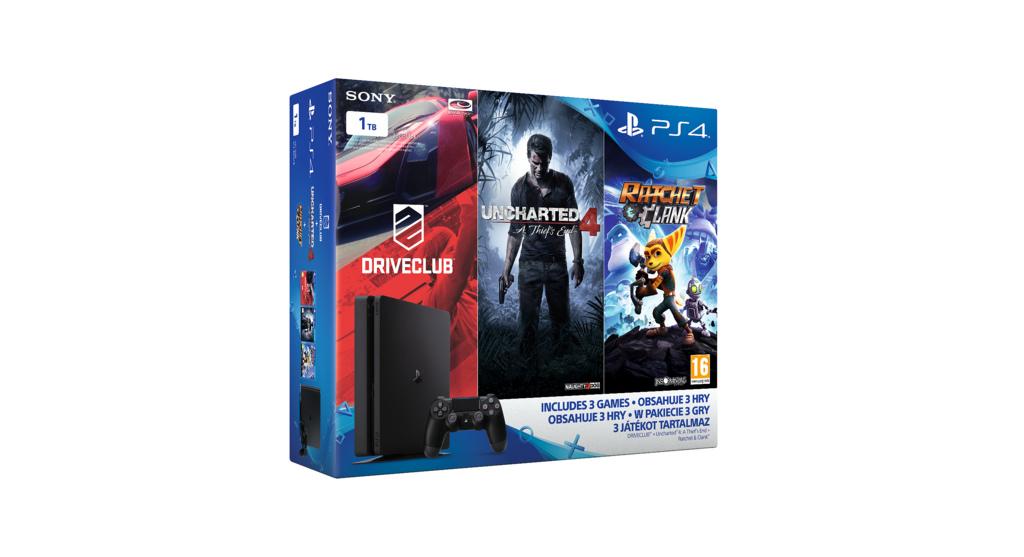 Tři nové PS4 Slim bundly s třemi hrami 132923
