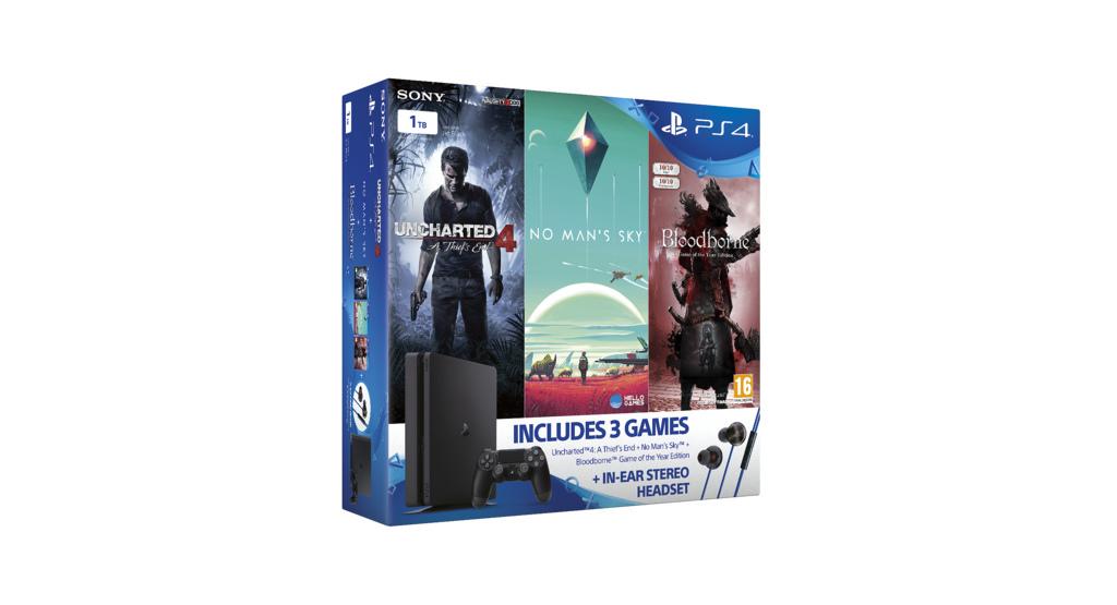 Tři nové PS4 Slim bundly s třemi hrami 132924