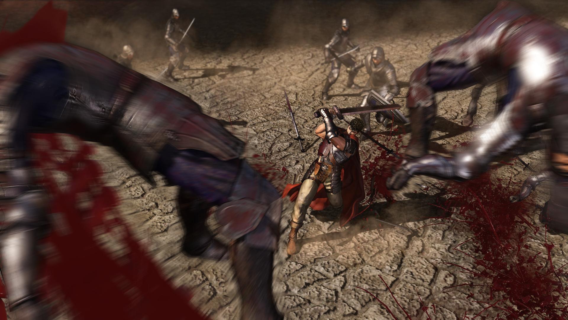 Krvavý masakr z Berserku na nových videích 132934