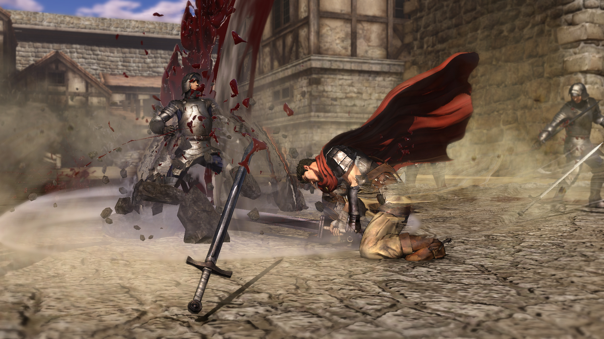 Krvavý masakr z Berserku na nových videích 132935