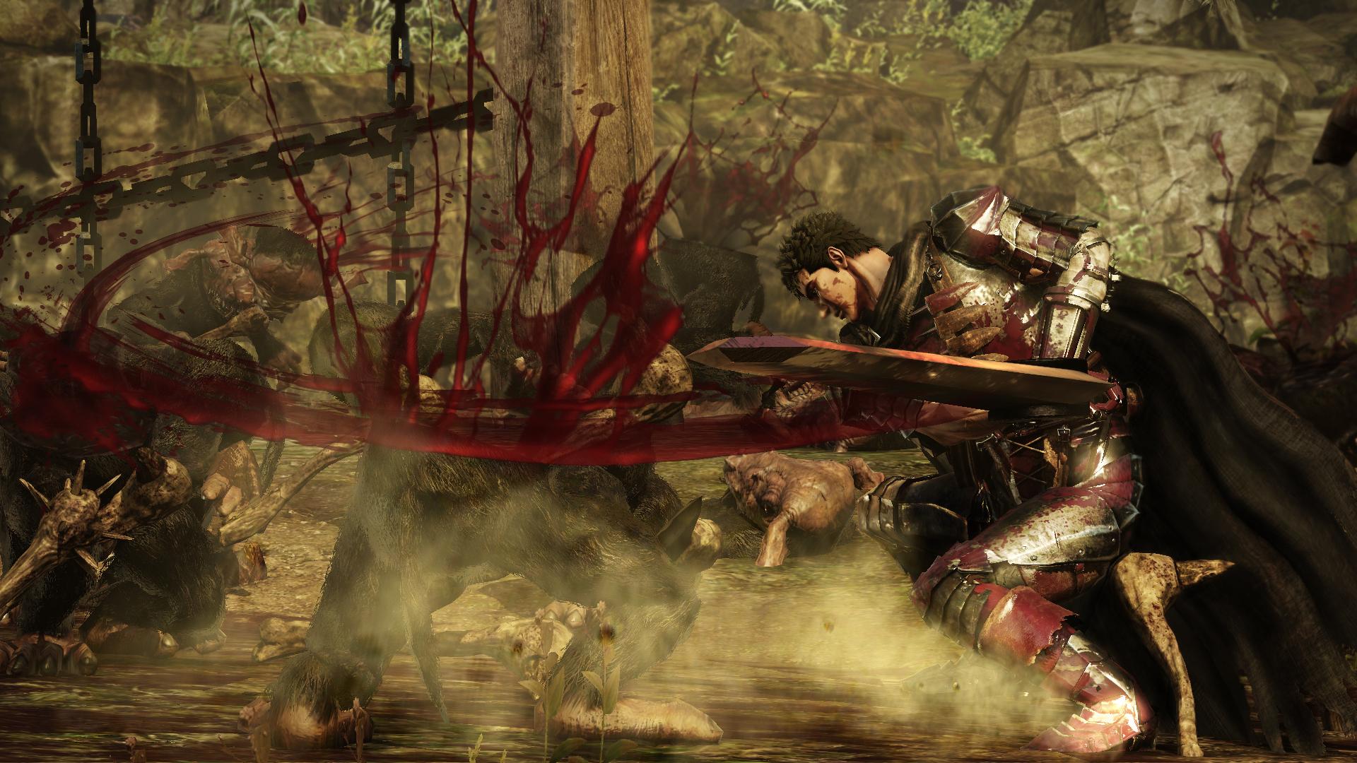 Krvavý masakr z Berserku na nových videích 132936