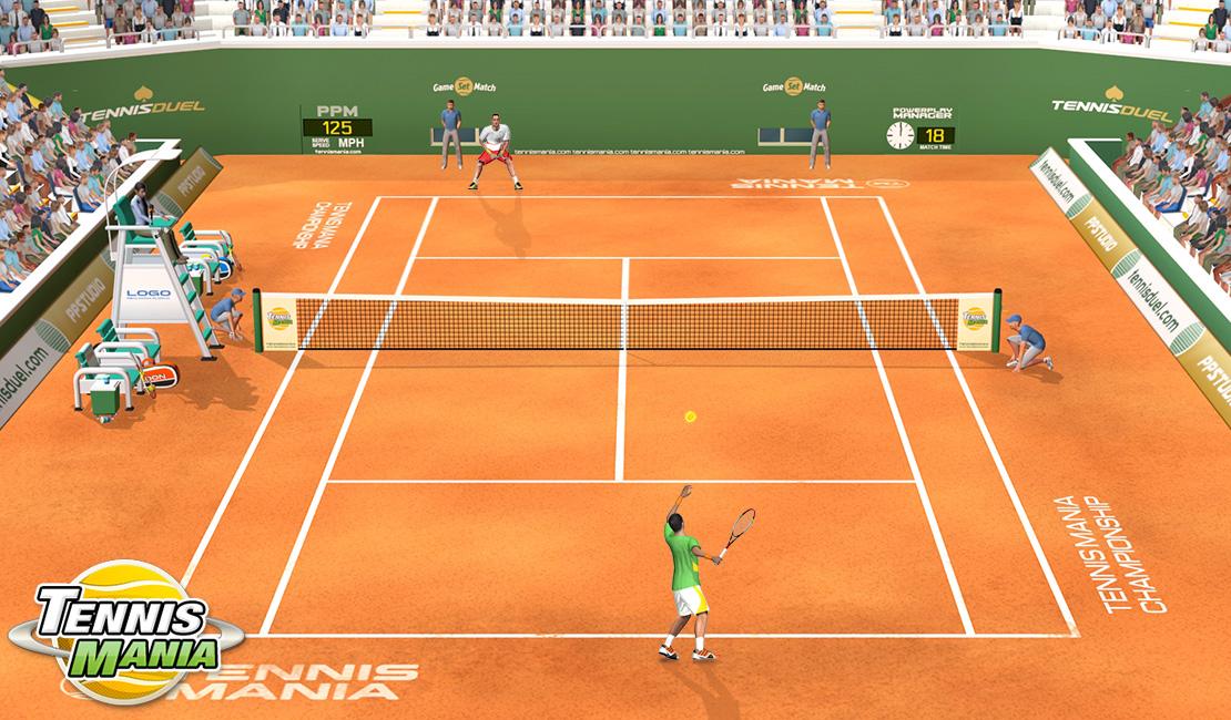 Staňte se tenisovou legendou! Stačí vám internetový prohlížeč 132978