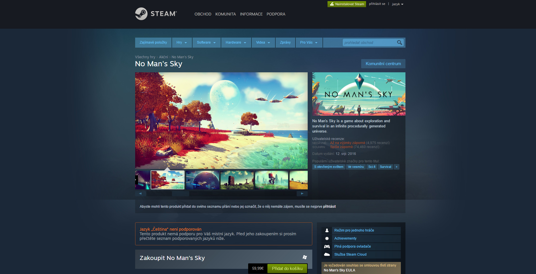Valve žádá vývojáře, aby na Steam dávali jen screenshoty ze svých her 133100