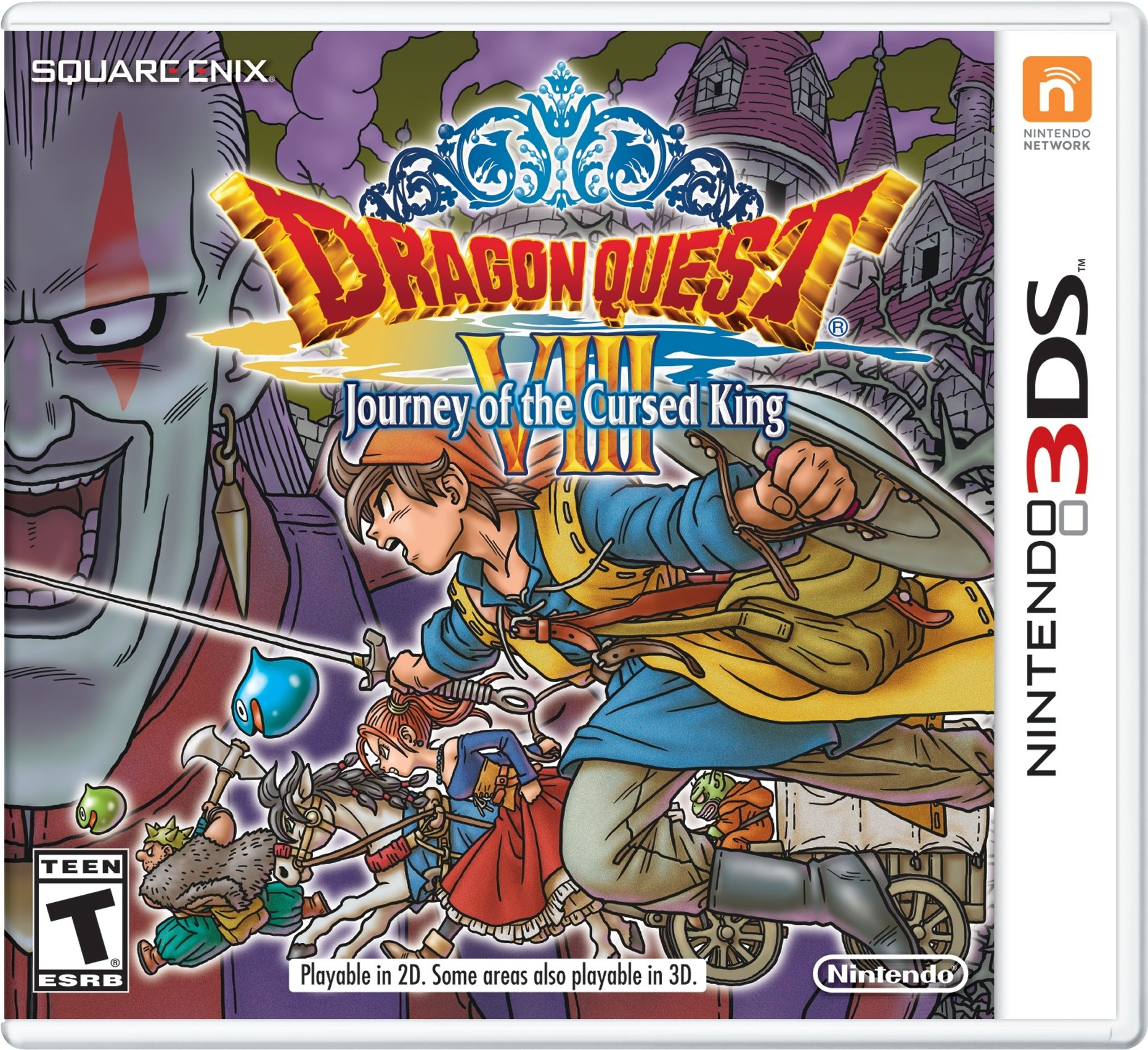 Dragon Quest VIII dorazí na 3DS už 20. ledna 133146