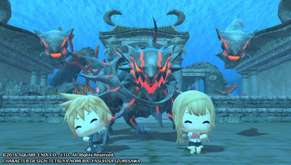 World of Final Fantasy nabízí hodně a zároveň málo 133847
