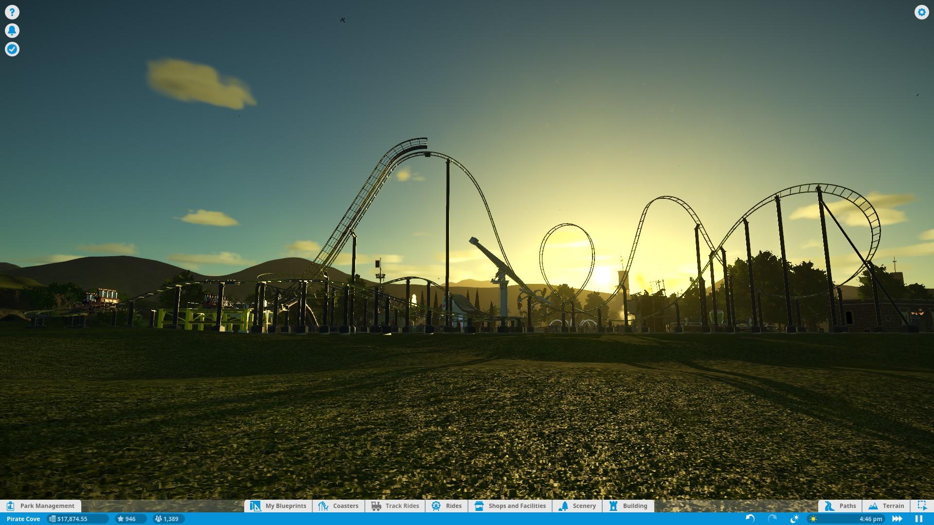 Planet Coaster – vyladěné budování 134266