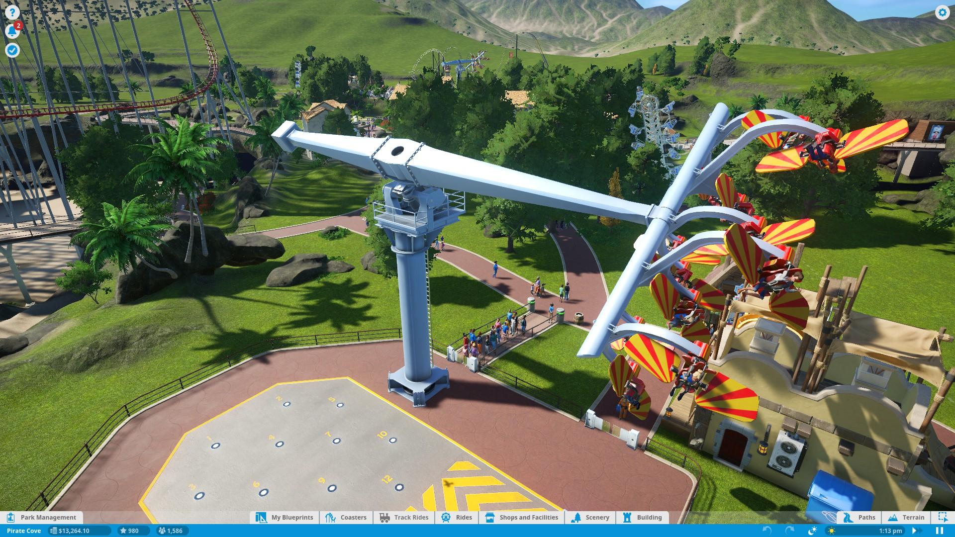 Planet Coaster – vyladěné budování 134273