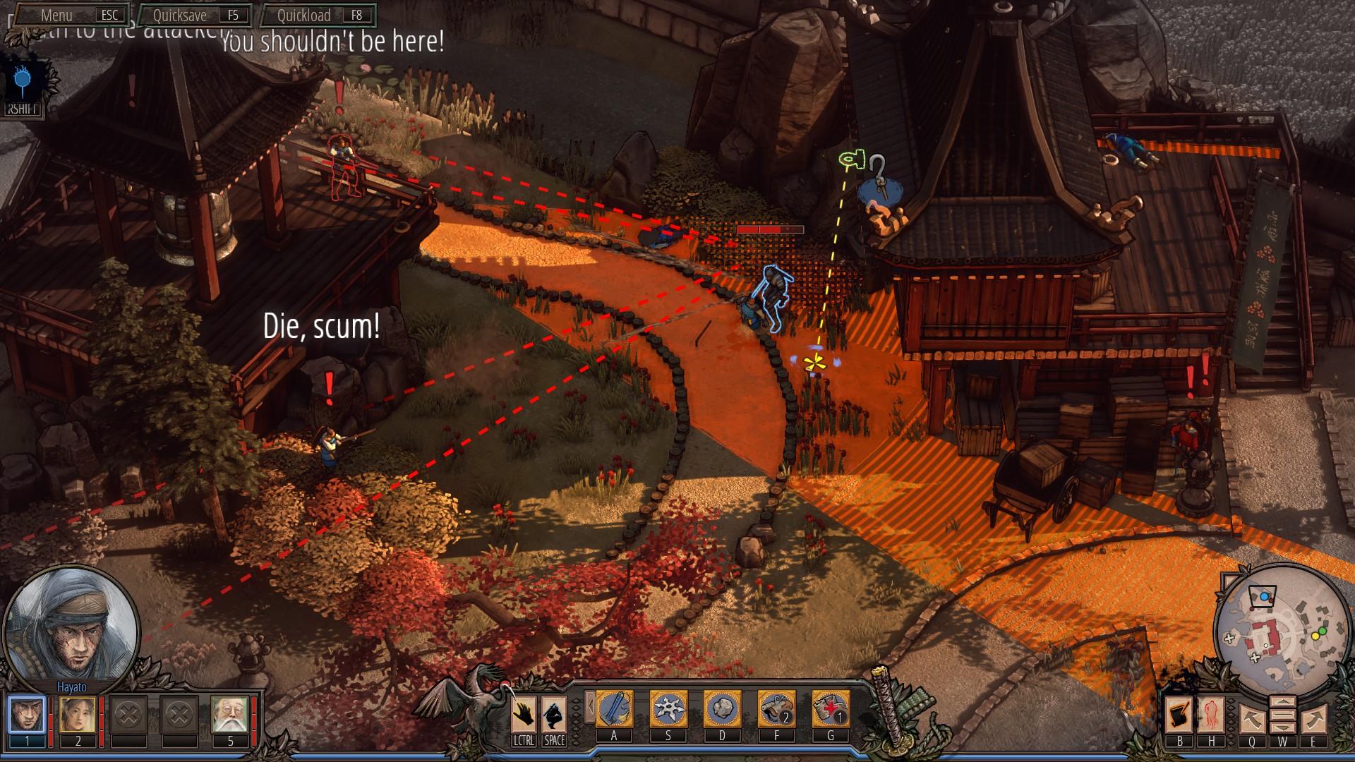 Shadow Tactics Blades of the Shogun – nervy drásající dobrodružství 134408