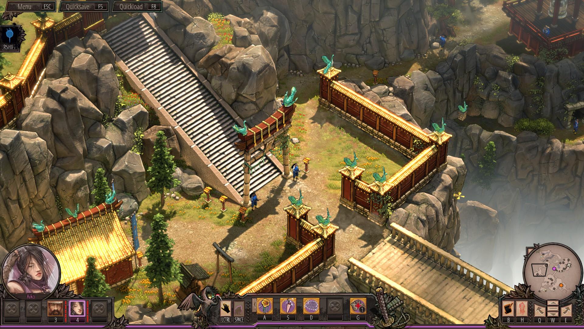 Shadow Tactics Blades of the Shogun – nervy drásající dobrodružství 134417