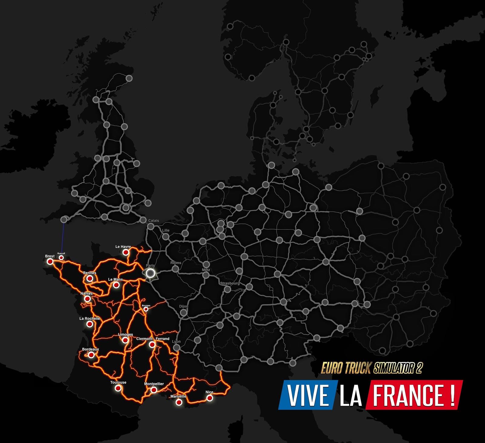 Euro Truck Simulator 2: Vive la France 134557