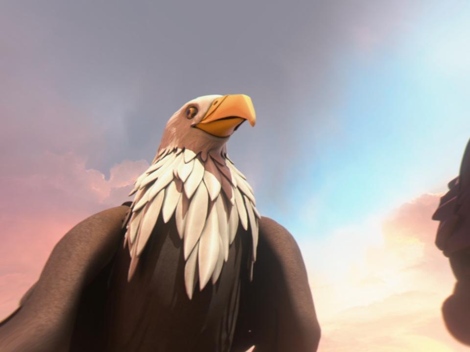 Eagle Flight – ptačí výzva 134574